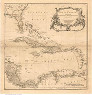Caribbean 1760 - Jefferys