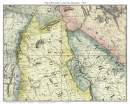 Merrimack County New Hampshire 1816 - Old Map Custom Print - Carrigain
