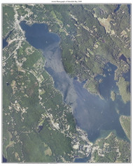 Aerial Photograph of Meredith Bay, 2009 - New Hampshire Custom Map