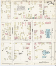 Burlington, VT Fire Insurance 1885 Sheet 6 - Old Town Map Reprint - Chittenden Co.