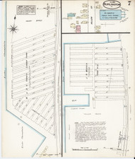 Burlington, VT Fire Insurance 1885 Sheet 7 - Old Town Map Reprint - Chittenden Co.