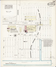 Burlington, VT Fire Insurance 1885 Sheet 14 - Old Town Map Reprint - Chittenden Co.