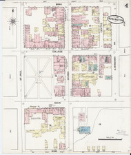 Burlington, VT Fire Insurance 1889 Sheet 4 - Old Town Map Reprint - Chittenden Co.