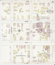 Burlington, VT Fire Insurance 1889 Sheet 5 - Old Town Map Reprint - Chittenden Co.