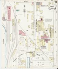 Burlington, VT Fire Insurance 1889 Sheet 12 - Old Town Map Reprint - Chittenden Co.