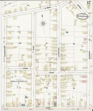 Burlington, VT Fire Insurance 1889 Sheet 17 - Old Town Map Reprint - Chittenden Co.