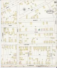 Burlington, VT Fire Insurance 1889 Sheet 18 - Old Town Map Reprint - Chittenden Co.
