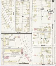 Burlington, VT Fire Insurance 1889 Sheet 19 - Old Town Map Reprint - Chittenden Co.