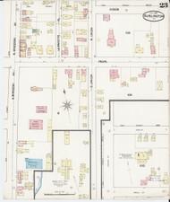 Burlington, VT Fire Insurance 1889 Sheet 23 - Old Town Map Reprint - Chittenden Co.