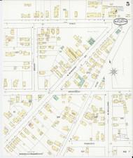 Burlington, VT Fire Insurance 1894 Sheet 5 - Old Town Map Reprint - Chittenden Co.