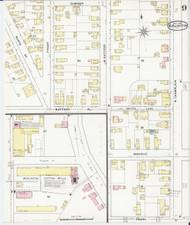 Burlington, VT Fire Insurance 1894 Sheet 9 - Old Town Map Reprint - Chittenden Co.