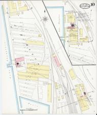 Burlington, VT Fire Insurance 1894 Sheet 10 - Old Town Map Reprint - Chittenden Co.