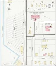 Burlington, VT Fire Insurance 1894 Sheet 11 - Old Town Map Reprint - Chittenden Co.