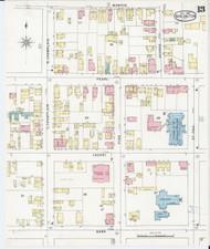 Burlington, VT Fire Insurance 1894 Sheet 13 - Old Town Map Reprint - Chittenden Co.