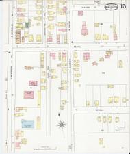 Burlington, VT Fire Insurance 1894 Sheet 15 - Old Town Map Reprint - Chittenden Co.
