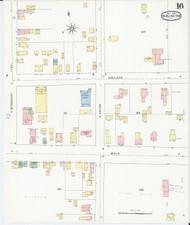 Burlington, VT Fire Insurance 1894 Sheet 16 - Old Town Map Reprint - Chittenden Co.