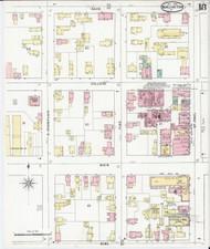 Burlington, VT Fire Insurance 1894 Sheet 18 - Old Town Map Reprint - Chittenden Co.