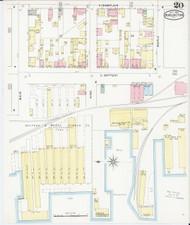 Burlington, VT Fire Insurance 1894 Sheet 20 - Old Town Map Reprint - Chittenden Co.