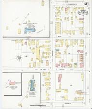 Burlington, VT Fire Insurance 1894 Sheet 21 - Old Town Map Reprint - Chittenden Co.