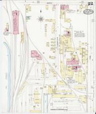 Burlington, VT Fire Insurance 1894 Sheet 22 - Old Town Map Reprint - Chittenden Co.
