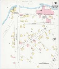 Burlington, VT Fire Insurance 1894 Sheet 26 - Old Town Map Reprint - Chittenden Co.