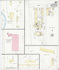 Burlington, VT Fire Insurance 1894 Sheet 27 - Old Town Map Reprint - Chittenden Co.