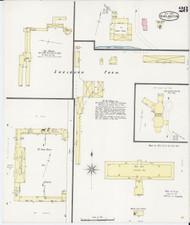Burlington, VT Fire Insurance 1894 Sheet 28 - Old Town Map Reprint - Chittenden Co.