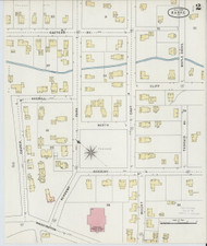 Barre, VT Fire Insurance 1894 Sheet 2 - Old Town Map Reprint