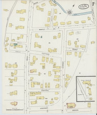 Barre, VT Fire Insurance 1894 Sheet 7 - Old Town Map Reprint