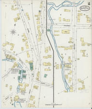 Barton, VT Fire Insurance 1892 Sheet 2 - Old Town Map Reprint