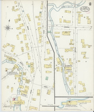 Barton, VT Fire Insurance 1897 Sheet 2 - Old Town Map Reprint