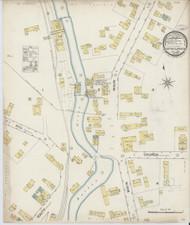 Barton Landing, VT Fire Insurance 1887 Sheet 1 - Old Town Map Reprint