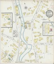 Barton Landing, VT Fire Insurance 1895 Sheet 1 - Old Town Map Reprint