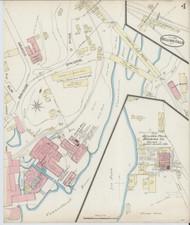 Bellows Falls, VT Fire Insurance 1885 Sheet 4 - Old Town Map Reprint