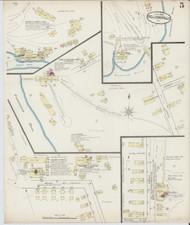 Bellows Falls, VT Fire Insurance 1885 Sheet 5 - Old Town Map Reprint