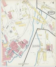 Bellows Falls, VT Fire Insurance 1891 Sheet 4 - Old Town Map Reprint