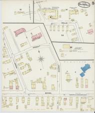 Bellows Falls, VT Fire Insurance 1891 Sheet 5 - Old Town Map Reprint