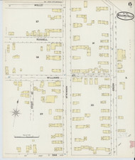 Bellows Falls, VT Fire Insurance 1891 Sheet 6 - Old Town Map Reprint