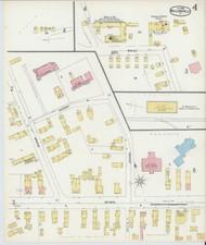 Bellows Falls, VT Fire Insurance 1896 Sheet 4 - Old Town Map Reprint