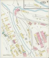 Bellows Falls, VT Fire Insurance 1896 Sheet 5 - Old Town Map Reprint