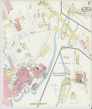Bellows Falls, VT Fire Insurance 1896 Sheet 7 - Old Town Map Reprint