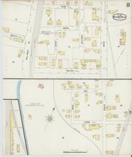 Bellows Falls, VT Fire Insurance 1896 Sheet 8 - Old Town Map Reprint