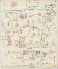 Bennington, VT Fire Insurance 1885 Sheet 4 - Old Town Map Reprint