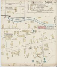 Bennington, VT Fire Insurance 1885 Sheet 5 - Old Town Map Reprint