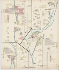 Bennington, VT Fire Insurance 1885 Sheet 6 - Old Town Map Reprint