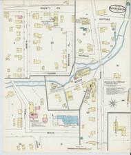 Bennington, VT Fire Insurance 1891 Sheet 6 - Old Town Map Reprint