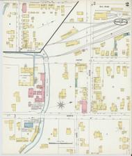 Bennington, VT Fire Insurance 1896 Sheet 2 - Old Town Map Reprint