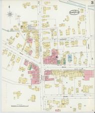 Bennington, VT Fire Insurance 1896 Sheet 3 - Old Town Map Reprint