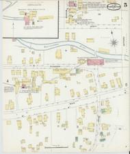 Bennington, VT Fire Insurance 1896 Sheet 5 - Old Town Map Reprint