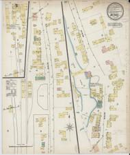 Bethel, VT Fire Insurance 1887 Sheet 1 - Old Town Map Reprint